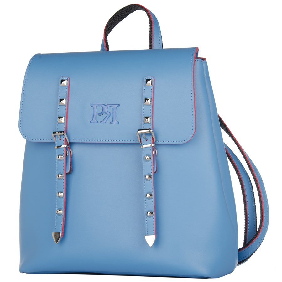 50b81afa98 Γυναικεία τσάντα Pierro Accessories σακίδιο πλάτης 90548EC41 μπλε ραφ