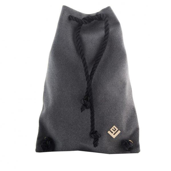 Γυναικεία τσάντα πλάτης Lovely Handmade Dourvas Felt 9D-W-03 Grey