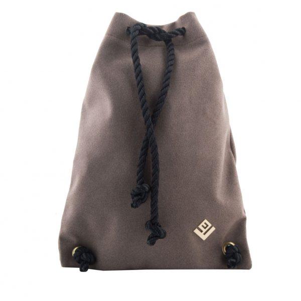 Γυναικεία τσάντα πλάτης Lovely Handmade Dourvas Felt 9D-W-07 Taupe