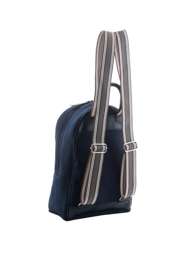 Γυναικεία Τσάντα Πλάτης Lovely Handmade Basic Simple Loose Backpack | Blue - 10BP-LO-23