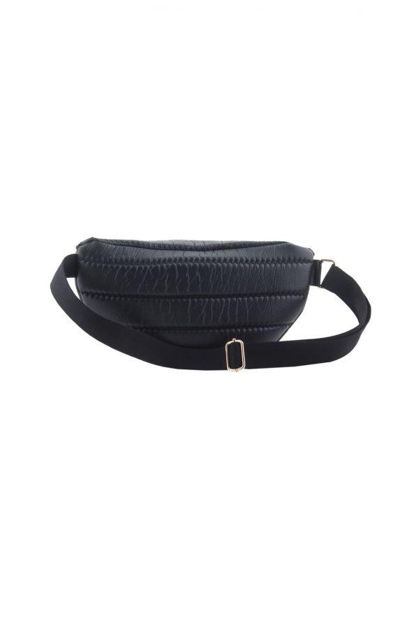Γυναικείο Τσαντάκι Μέσης Lovely Handmade Billy Belt Bag Phos | Black - 9B-XFL-13