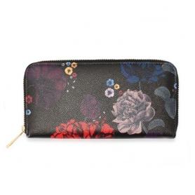 Γυναικείο Πορτοφόλι Anna Grace AGP1108 - Black Floral