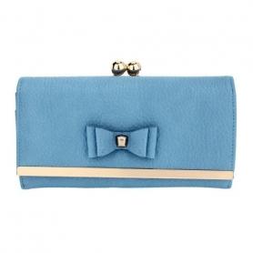 Γυναικείο Πορτοφόλι Anna Grace AGP1077 - Blue Bow