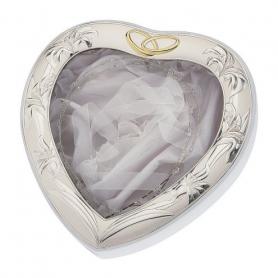 Ασημένια Στεφανοθήκη Καρδιά MA/ST26-L