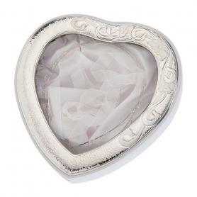 Ασημένια Στεφανοθήκη Καρδιά MA/ST27