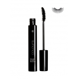 LR Mascara Colours Volume & Curl - Absolute Black 10 ml 10002-1