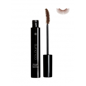 LR Mascara Colours Volume & Curl - Dark Brown 10 ml 10002-4