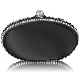Γυναικείο τσαντάκι Clutch LSE0043 BLACK