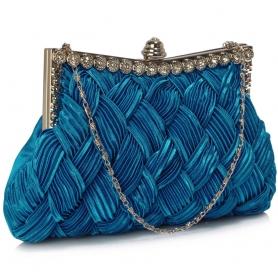 Γυναικείο τσαντάκι Clutch LSE0079 ROYAL BLUE
