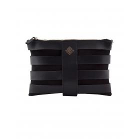 Γυναικεία τσάντα χειρός - ώμου Lovely Handmade Claudia Asti Black 6NN-L13-13