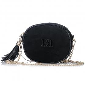 Γυναικείο τσαντάκι χιαστί Pierro Accessories 90442KS01 μαύρο