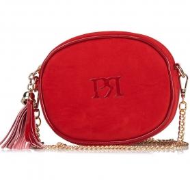 Γυναικείο τσαντάκι χιαστί Pierro Accessories 90442KS08 κόκκινο