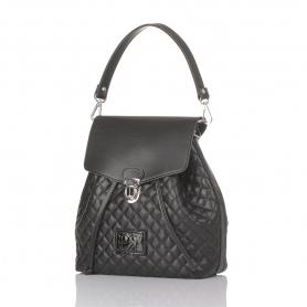 Γυναικεία τσάντα σακίδιο πλάτης Pierro Accessories 90526KPT01 μαύρο
