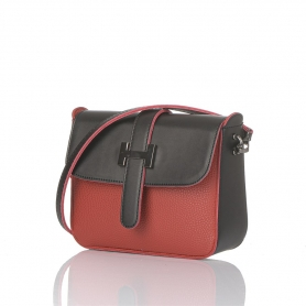 Γυναικεία τσάντα χιαστί Pierro Accessories 90560DL08 κόκκινο