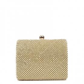 Γυναικεία τσάντα Clutch LPO131V GOLD
