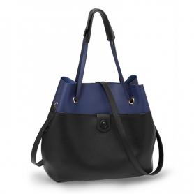 Γυναικεία Τσάντα Ώμου (Hobo) AG00190A Black / Blue