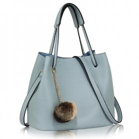 Γυναικεία Τσάντα Ώμου (Hobo) AG00190 Blue