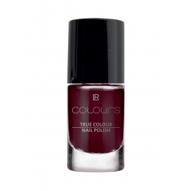 LR Colours Βερνίκι Νυχιών True Colour - Black Cherry 5.5ml 10400-11