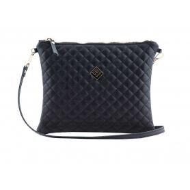 Γυναικεία τσάντα χειρός - ώμου Lovely Handmade Luxurious Remvi 7N-LXC-13 Black