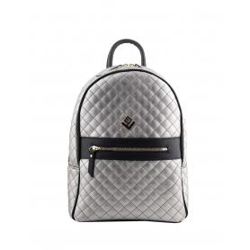 Γυναικεία τσάντα σακίδιο πλάτης - backpack Lovely Handmade Basic Remvi 7BP-C-38 Gunmetal