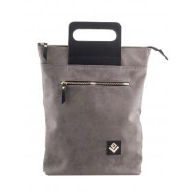 Γυναικεία τσάντα σακίδιο πλάτης - backpack / Tote Bag Lovely Handmade Victoria Asti 7V-D-03 Grey