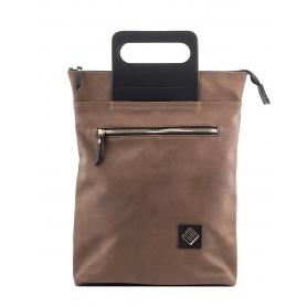 Γυναικεία τσάντα σακίδιο πλάτης - backpack / Tote Bag Lovely Handmade Victoria Asti 7V-D-12 Brown
