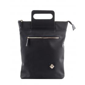 Γυναικεία τσάντα σακίδιο πλάτης - backpack / Tote Bag Lovely Handmade Victoria Asti 7V-D-13 Black