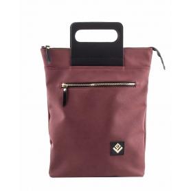 Γυναικεία τσάντα σακίδιο πλάτης - backpack / Tote Bag Lovely Handmade Victoria Asti 7V-D-14 Bordeaux