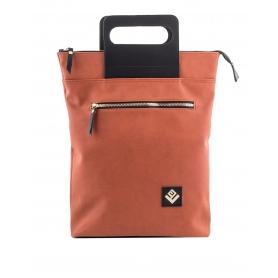 Γυναικεία τσάντα σακίδιο πλάτης - backpack / Tote Bag Lovely Handmade Victoria Asti 7V-D-17 Orange