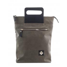 Γυναικεία τσάντα σακίδιο πλάτης - backpack / Tote Bag Lovely Handmade Victoria Asti 7V-D-30 Olive