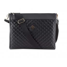 Γυναικεία τσάντα ώμου - χιαστί Lovely Handmade Anessis Remvi 7A-C-13 Black