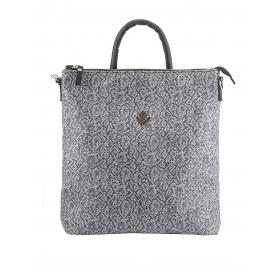 Γυναικεία τσάντα σακίδιο πλάτης - backpack Lovely Handmade Successful Stitch 7LB-IN-03 Grey