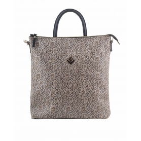 Γυναικεία τσάντα σακίδιο πλάτης - backpack Lovely Handmade Successful Stitch 7LB-IN-12 Brown