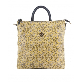 Γυναικεία τσάντα σακίδιο πλάτης - backpack Lovely Handmade Successful Stitch 7LB-IN-19 Yellow