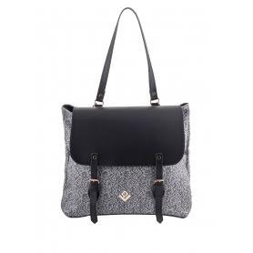 Γυναικεία τσάντα σακίδιο πλάτης - backpack Lovely Handmade Trusting Stitch 7BP-CIN-03 Grey