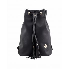 Γυναικεία τσάντα σακίδιο πλάτης - backpack Lovely Handmade Pouch Asti 7P-D-13 Black