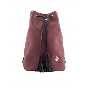 Γυναικεία τσάντα σακίδιο πλάτης - backpack Lovely Handmade Pouch Asti 7P-D-14 Bordeaux