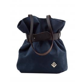 Γυναικεία τσάντα σακίδιο πλάτης / τσάντα ώμου Lovely Handmade Kamil Asti Suede 6SF-SS-23 Blue