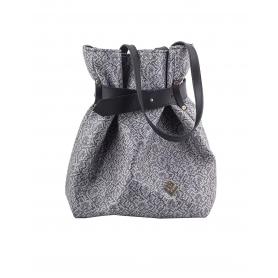Γυναικεία τσάντα σακίδιο πλάτης / τσάντα ώμου Lovely Handmade Kamil Stitch 7SF-IN-03 Grey