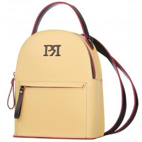 Γυναικεία τσάντα σακίδιο πλάτης Pierro Accessories 90551EC20 Κίτρινο