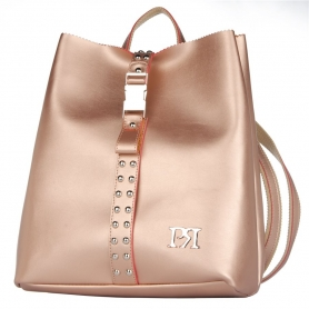 Γυναικείο σακίδιο πλάτης Pierro Accessories 00176EC26 Χαλκός