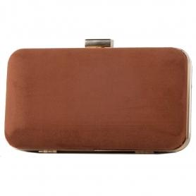Γυναικείο τσαντάκι clutch Pierro Accessories 90449KS11 ταμπά