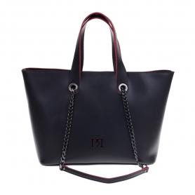 Γυναικεία τσάντα χειρός - ώμου Pierro Accessories 90461EC01 μαύρο