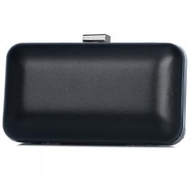 Γυναικείο τσαντάκι clutch Pierro Accessories 90449SY01 μαύρο