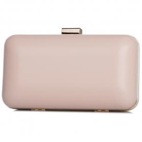 Γυναικείο τσαντάκι clutch Pierro Accessories 90449SY50 nude