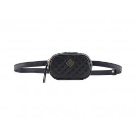 Γυναικείο τσαντάκι μέσης Belt Bag - ώμου Lovely Handmade Remvi 7B-C-13 Black