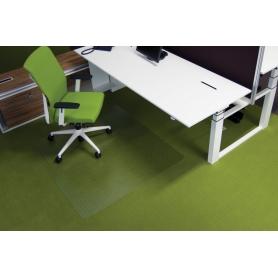 Προστατευτικό δαπέδου διάφανο Ecogrip® O 1,30 x 1,20 για μοκέτα