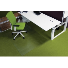 Προστατευτικό δαπέδου διάφανο Ecogrip® O 1,50 x 1,20 για μοκέτα