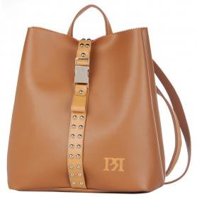 Γυναικείο σακίδιο πλάτης Pierro Accessories 00176EC11 ταμπά