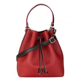 Γυναικεία τσάντα ώμου χειρός πουγκί Pierro Accessories 90400DL08 Κόκκινο